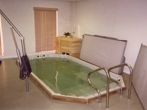 Indoor therapy pool