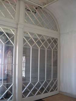 Solarium After Restoration of Glass Wall